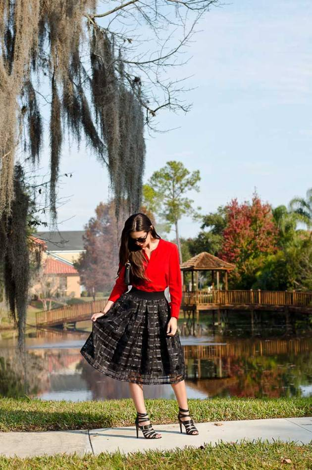 black-midi-skirt-and-red-blouse-b