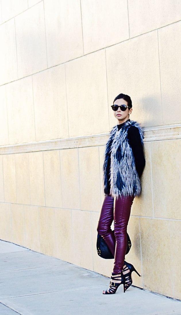 how-to-wear-a-faux-fur-vest