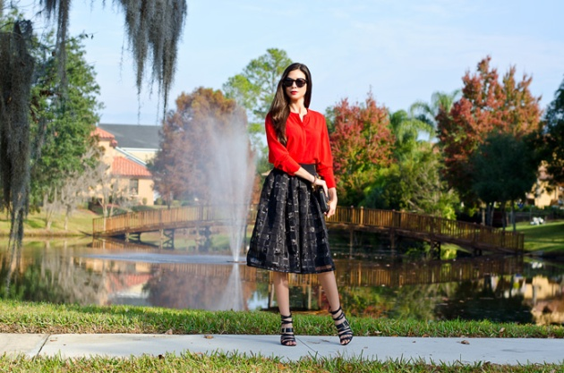 how-to-wear-midi-skirt