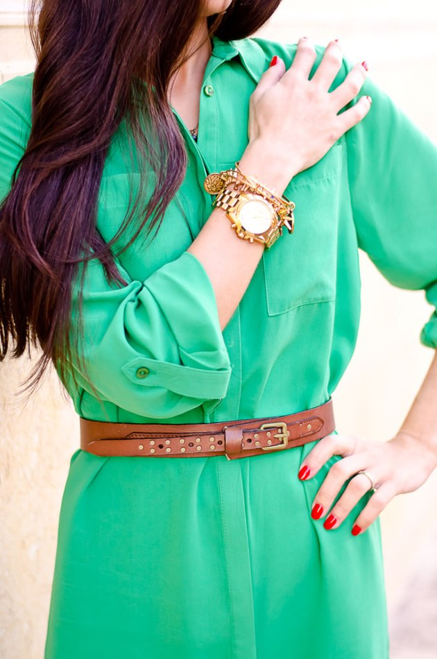 ootd-dorothy-perkins-green-shirt-dress-chinese-laundry-caged-high-heel-sandals-7