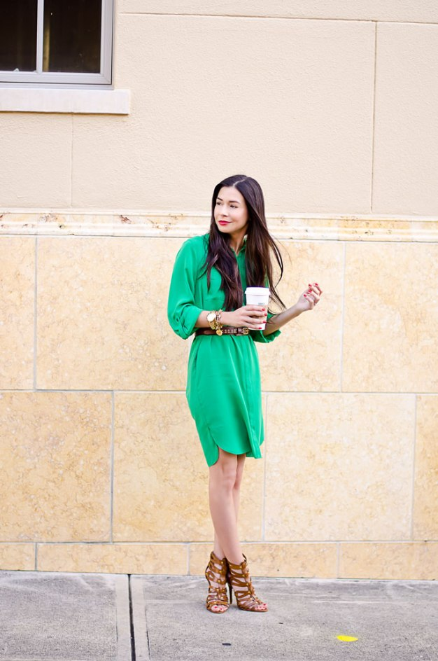 ootd-dorothy-perkins-green-shirt-dress-chinese-laundry-caged-high-heel-sandals-9