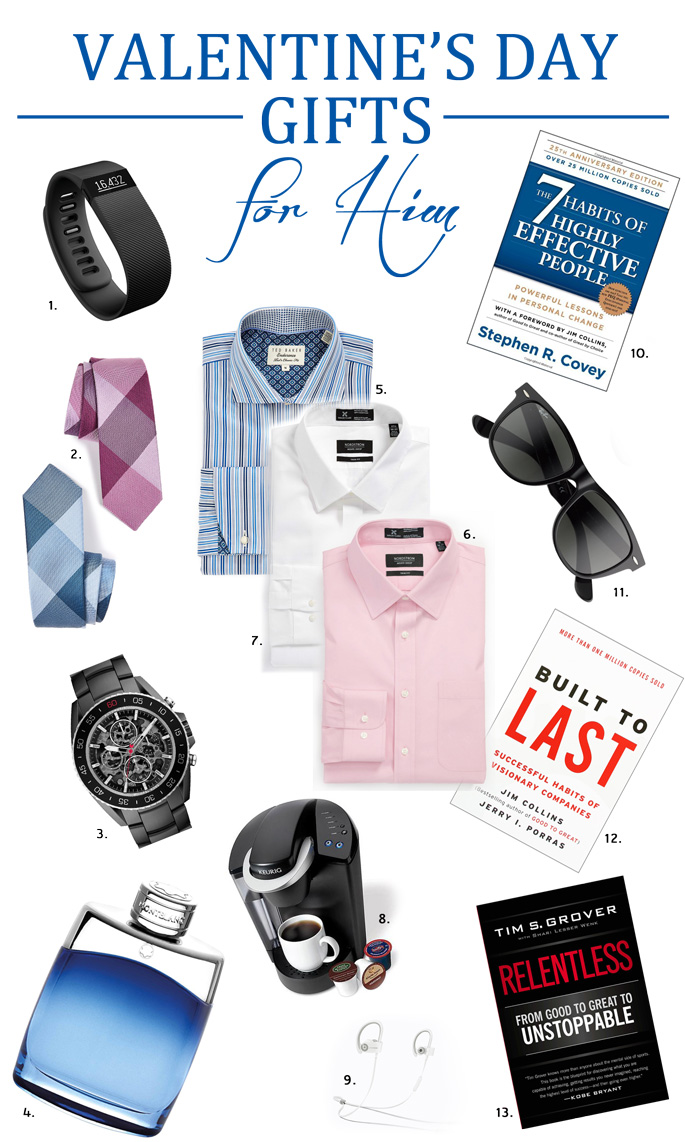 Valentine s day gift guide for him the classified chic for Gifts for him for valentine day