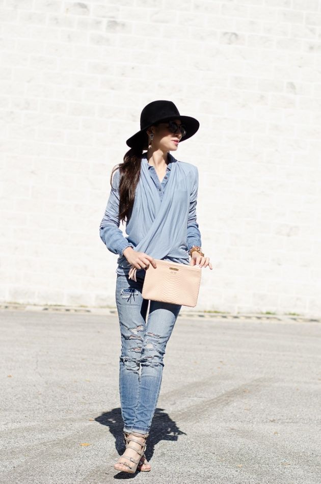 chambray-shirt-loft-gigi-new-york-all-in-one-clutch-3