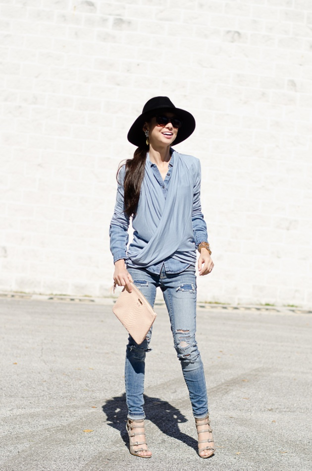 chambray-shirt-loft-light-blue-layers-and-skinny-jeans-mossimo-2