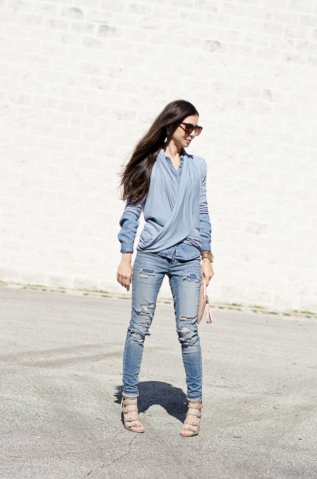 chambray-shirt-loft-light-blue-layers-and-skinny-jeans-mossimo-4