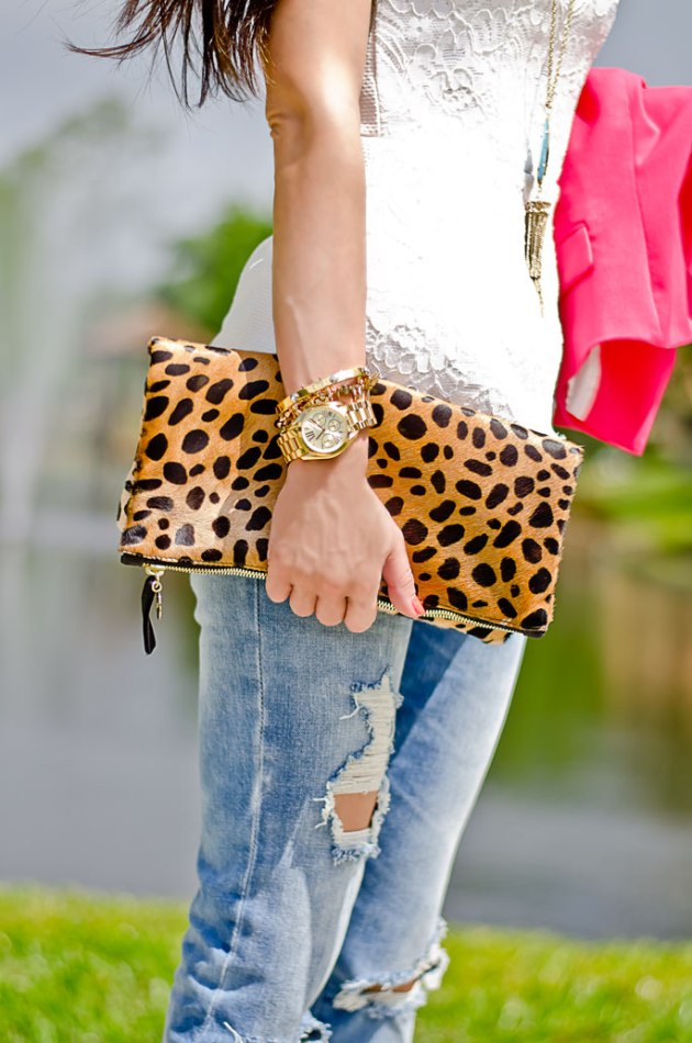 outfit-of-the-day-perfect-peplum-top-and-leopard-clutch-1