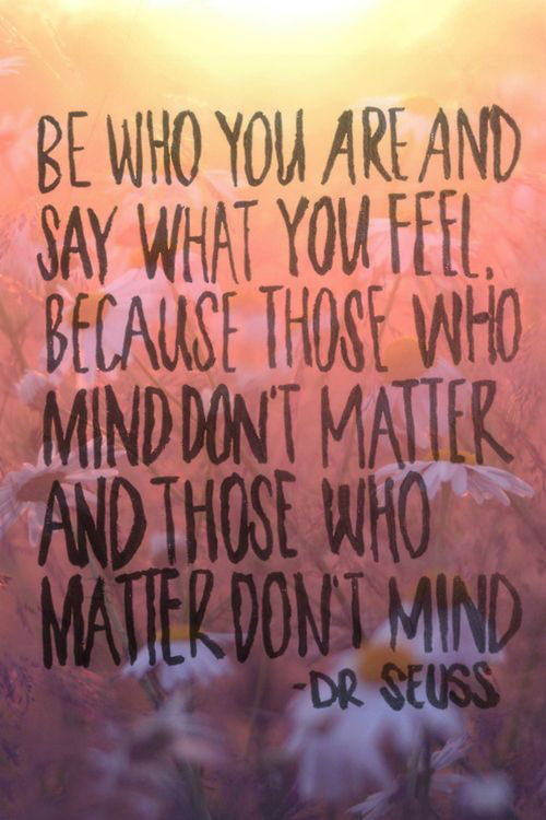 Dr. Seuss Quote About Those Who Matter