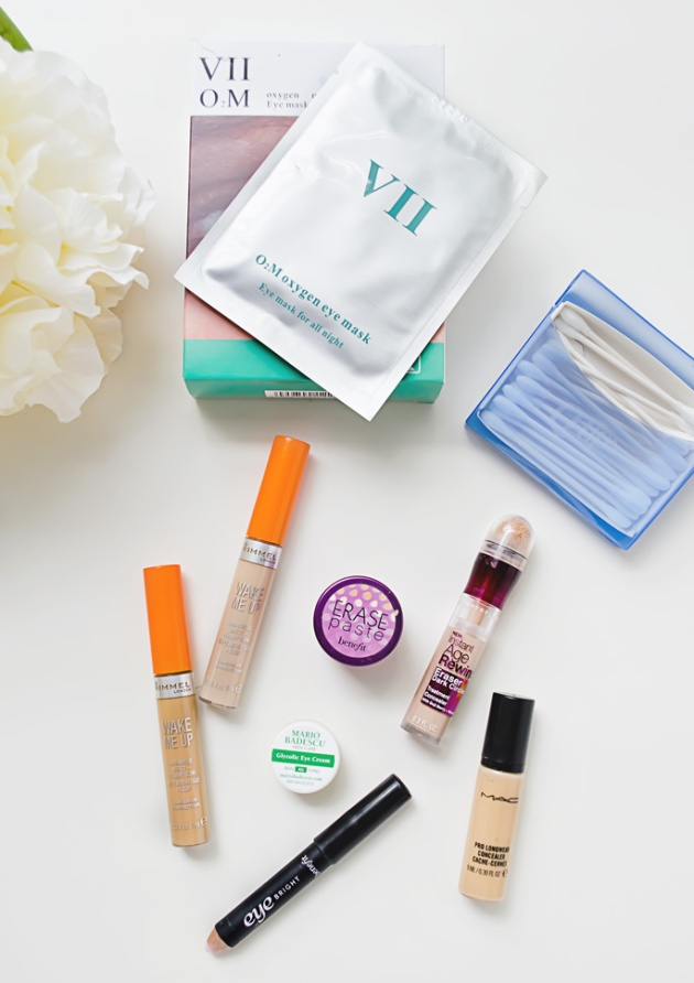 Get perfect under eyes with Oxygen Eye Mask VII Code and Rimmel Wake Me Up Concealer