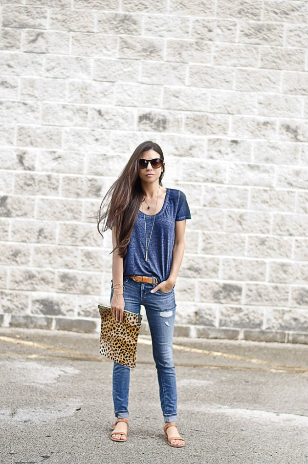 outfit-of-the-day-blue-jeans-ann-taylor-loft-clare-vivier-leopard-fold-over-clutch-1